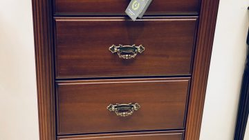 5 Drawer tall chest mahogany