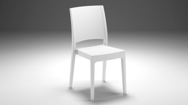 FLORA Strong Plastic Chair