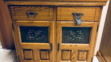 2 Door winchester oak