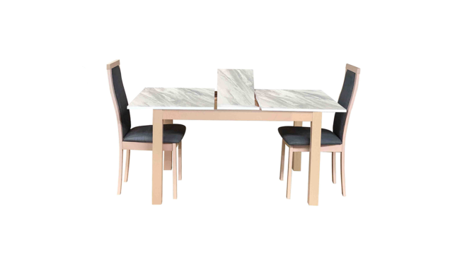 TME-6930 Extendable Table + 4 CB-2434 Chairs