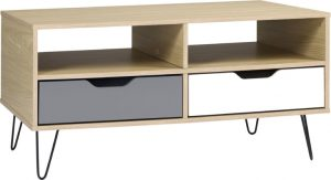 Bergen 2 Drawer Coffee Table 1