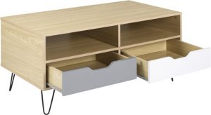 Bergen 2 Drawer Coffee Table 2