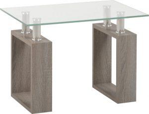 Milan Lamp Table Grey